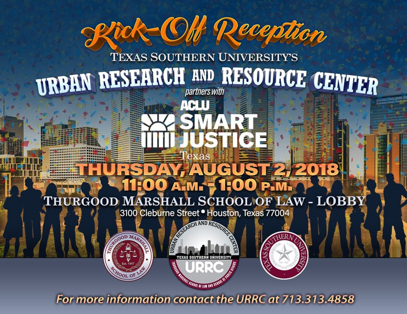 Kick Off Reception Event Flyer